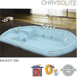 Bathtub Majesty 200 + Whirlpool