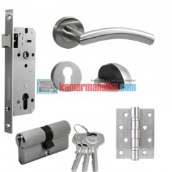 Yale Paket Set Promo Kunci Pintu Handle YTL 070 Door Lock