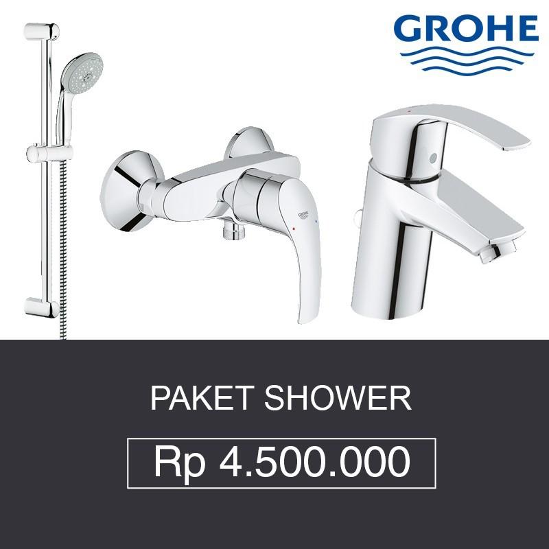 Paket Shower Grohe Shower Bath Mixer Kran Air Toko