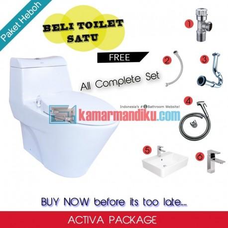 Package American Standard Toilet OP