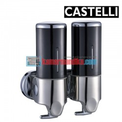 Double Soap Dispenser 1256707-BL CASTELLI