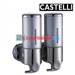 Double Soap Dispenser 1256707-SL CASTELLI