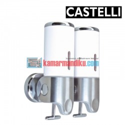 Double Soap Dispenser 1256707-WH CASTELLI