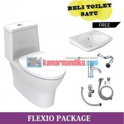 Package Toilet Flexio American Standard