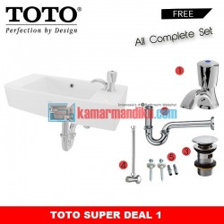 Super Deal Wall Hung Lavatory Toto LW248JT1