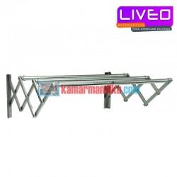 Liveo Jemuran dinding 3 bars Lv 304 (1m)
