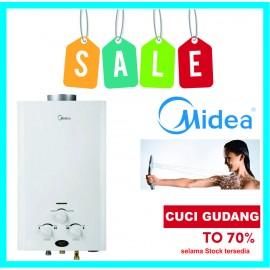 Water Heater Gas LPG Midea JSD10-5DG2