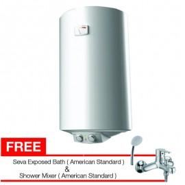 Midea water heater D5015 N2 Gratis Kran Shower American Standard