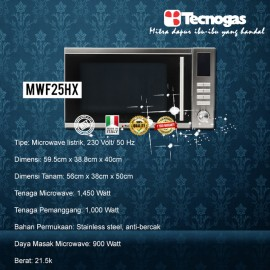 Tecnogas MWF25HX Built in Oven