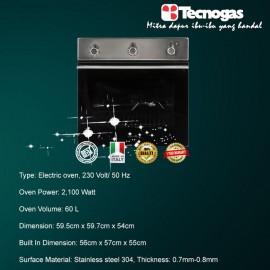 Tecnogas FN3K66E6B Electric Oven
