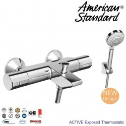 Active Exposed Thermostatic Bath & Shower WF4946.602.50