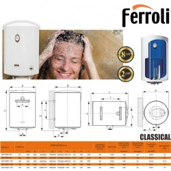 Classical Vertical 50 ltr