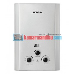 Modena Gas Water Heater GI 6 V - Silver