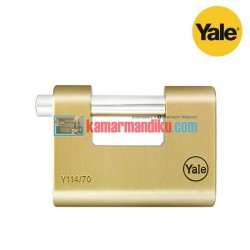 Yale Gembok Rectangular Padlock Y114/70/135/1