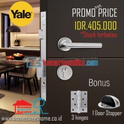 Yale Paket Set Promo Kunci Pintu Handle YTL 060 Door Lock