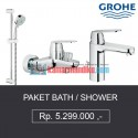 Paket Bath / shower grohe