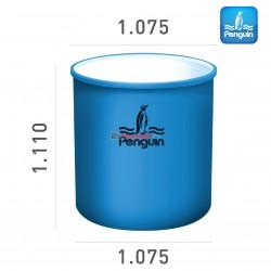 Penguin Cylinder Open-Top Tank TR 100