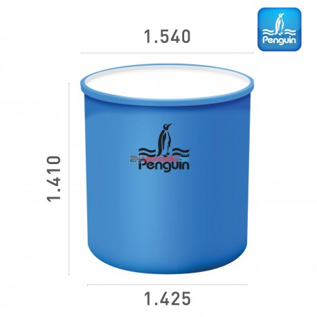 Penguin Cylinder Open-Top Tank TR 200