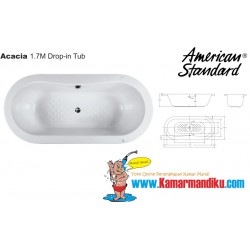 Bathtub Acacia 1700AC01K
