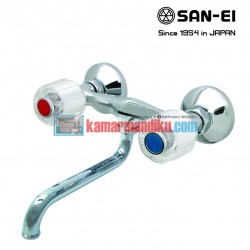 hot and cold faucets san-ei K33c