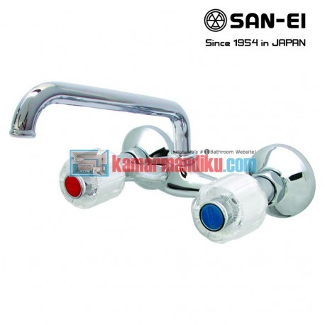 hot and cold faucets san-ei K35c
