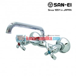 hot and cold faucets san-ei K35pr
