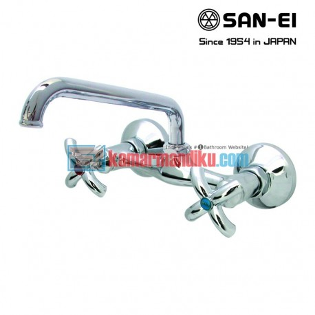hot and cold faucets san-ei K35p