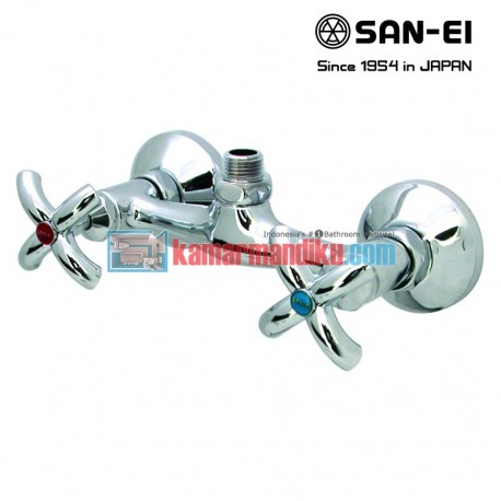 hot and cold faucets san-ei K35p-x