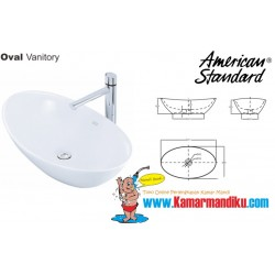 Oval Vanitory