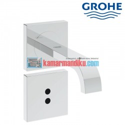 E infrared electronic basin mixer wall grohe allure 36235000