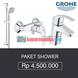 Paket Shower Grohe (Shower, Bath Mixer, Kran Air)