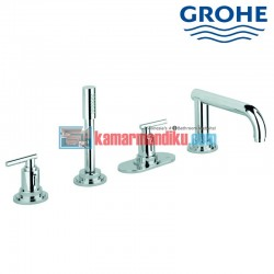 4-hole bath or shower combination Grohe atrio classic 19142000