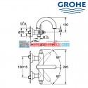 Kran shower Grohe atrio classic 25011000