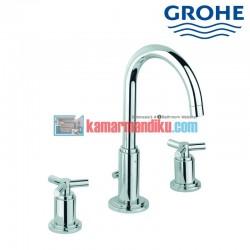 3-hole basin mixer M-size Grohe atrio classic 20008000