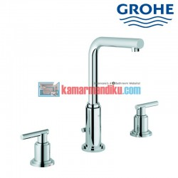 3-hole basin mixer M-size Grohe atrio classic 20382001