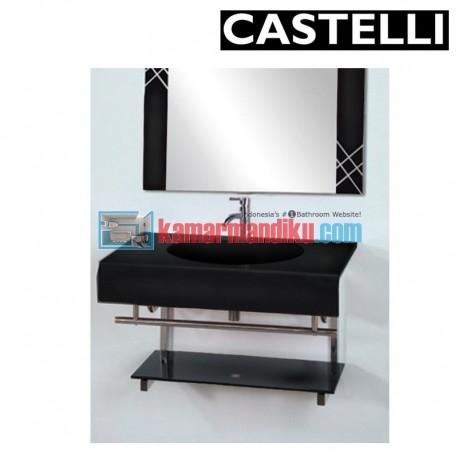 GLASS BASIN SET CASTELLI