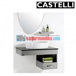 GLASS BASIN SET CASTELIIN