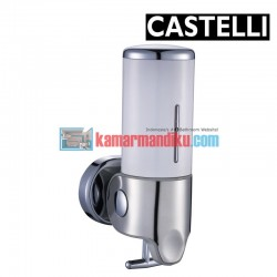 Single Soap Dispenser 1256706-WH CASTELLI
