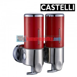 Double Soap Dispenser 1256707-RD CASTELLI
