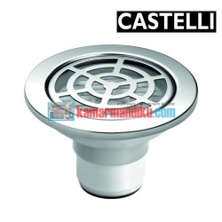 Floor Drain size : Diameter 100 mm x 70 mm 1195107 CASTELLI