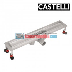 Long Floor Drain 60cm 1275116 CASTELLI