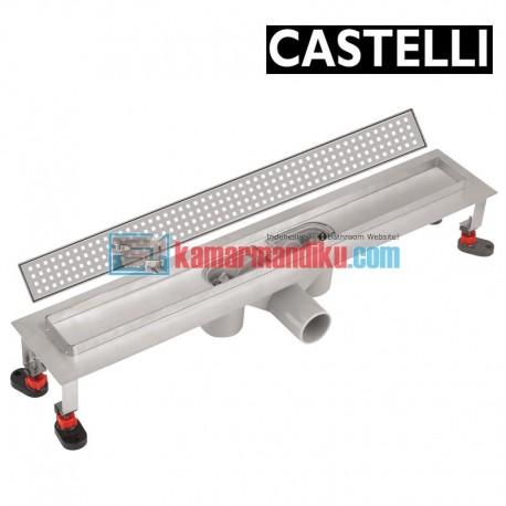 Long Floor Drain 60cm 1275117 CASTELLI