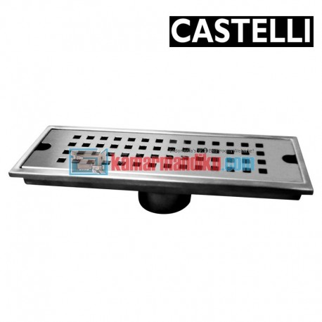 Long Floor Drain 30cm 1285119 CASTELLI