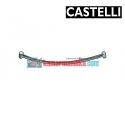 "PEX Flexible Hose 300 mm F1/2"" x F1/2"" , SS braided 1175901-30 CASTELLI"