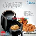 MIDEA Air Fryer MODERN MF-CN20A- Menggoreng tanpa perlu Minyak
