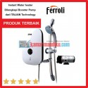 Ferroli Water Heater Instant DIVO SDP 3.3S ++ Booster Pump.