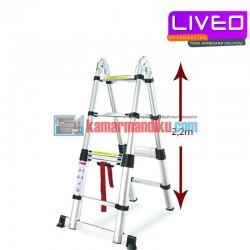 LIVEO Magic TELESCOPIC LADDER LV 223 (4,4 M)