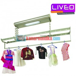 Liveo jemuran langit langit lifting electric GW886