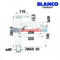 Blanco kitchen faucet type Linee