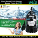 Wilo PD - 180 EA Pompa Submersible Air Bersih